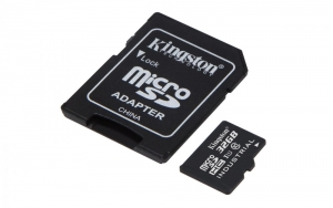 Kingston Micro SDHC 32GB Class 10 UHS-I Industrial Temp + SD adaptér (SDCIT/32GB)