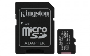 Kingston Canvas Select Plus micro SDXC 128GB Class 10 UHS-I (SDCS2/128GB)